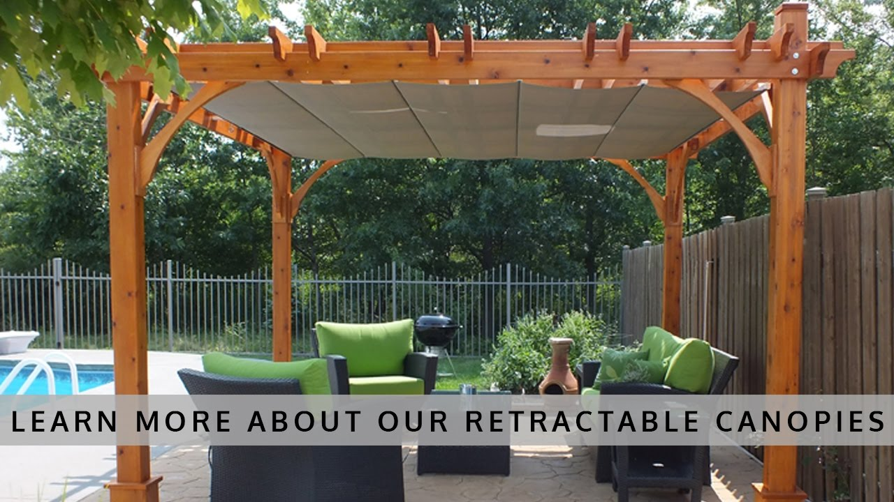 pergola canopy outdoor living today pergola with retractable canopy HGRKZJD