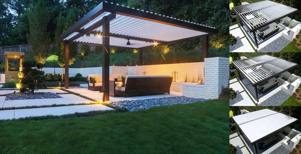 pergola covers luxury louvered pergola patio covers are fully adjustable, rotating louvers  which RGYJRCA