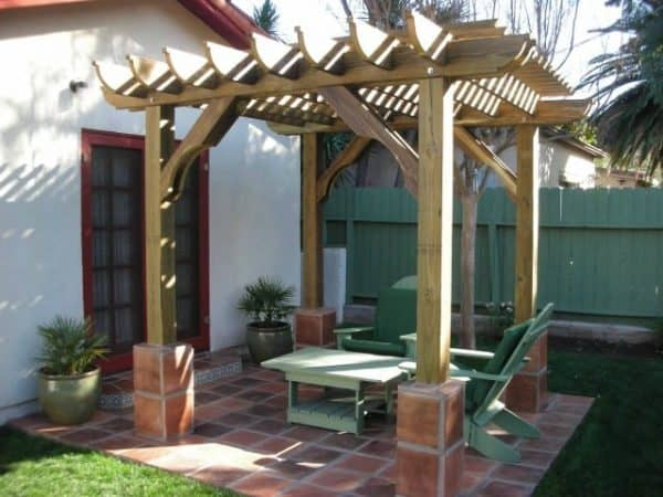pergola kits big kahuna freestanding pergola kit PGJPBWY