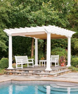 pergola kits from walpole woodworkers CZQFRFM