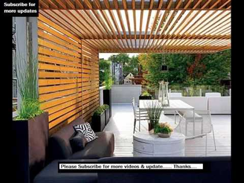 Modern Pergola To Beautify Your Garden Decorifusta