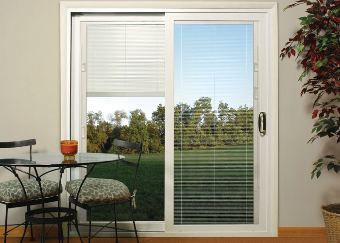 photo of blinds for patio doors patio doors w mini blinds thermal pshslot - Blinds For Patio Doors