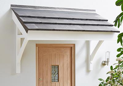 pine flat roof porch canopy GFHBKYG