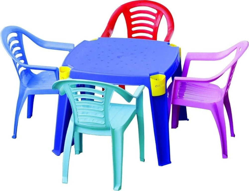 plastic furniture plastic table chair set GJJEFPA