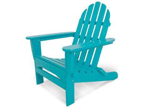 plastic furniture polywood® classic adirondack recycled plastic chair VYEBPJV