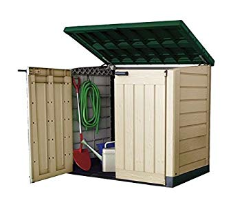 plastic garden shed keter plastic storage unit box garden shed outdoor sheds for wheelie bins NOPYKVF