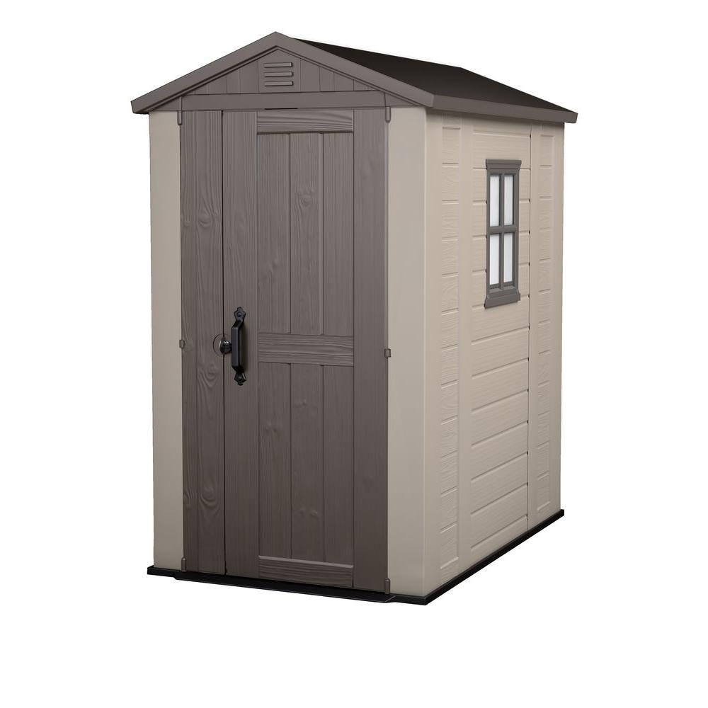 plastic garden shed outdoor storage shed OYZJNLS
