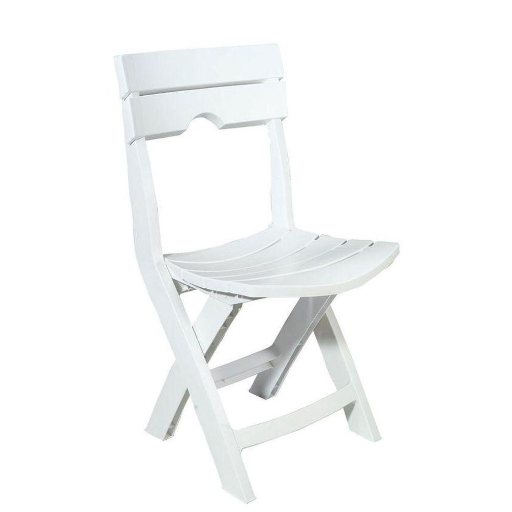 plastic outdoor chairs adams manufacturing quik-fold white resin plastic outdoor lawn chair JDWCAZR
