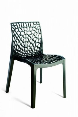 plastic outdoor chairs hover to zoom; designer look plastic outdoor chair NSEYTAT