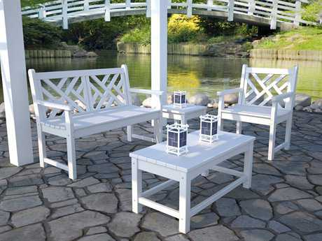 plastic patio furniture recycled plastic lounge sets BTBWKJB