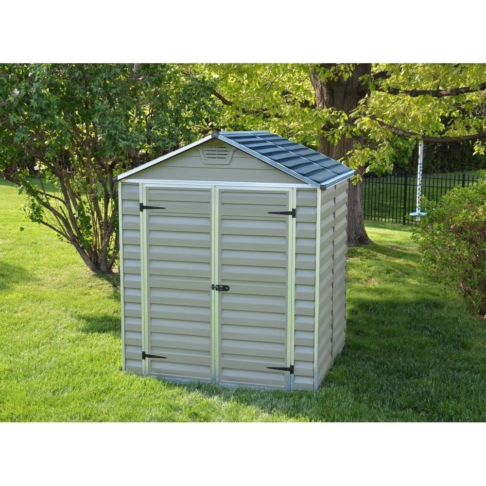 plastic sheds plastic shed 5x6 (green) AAIKEBT