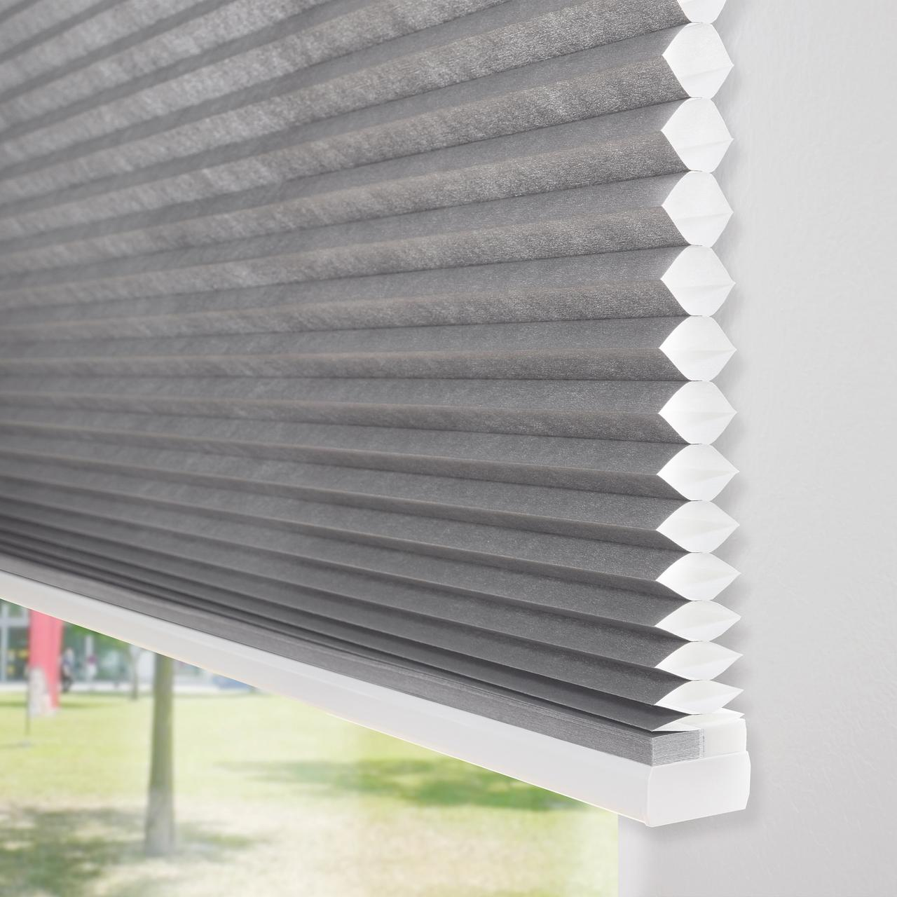 pleated blinds large pleated blind - 45 mm honeycomb TTBWMBE