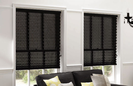 How to achieve a contemporary look with pleated blinds