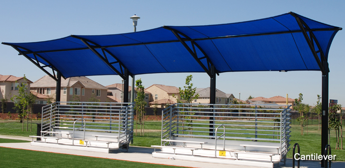 poligon fabric shade structures, home page, products slide show LCAVQLX