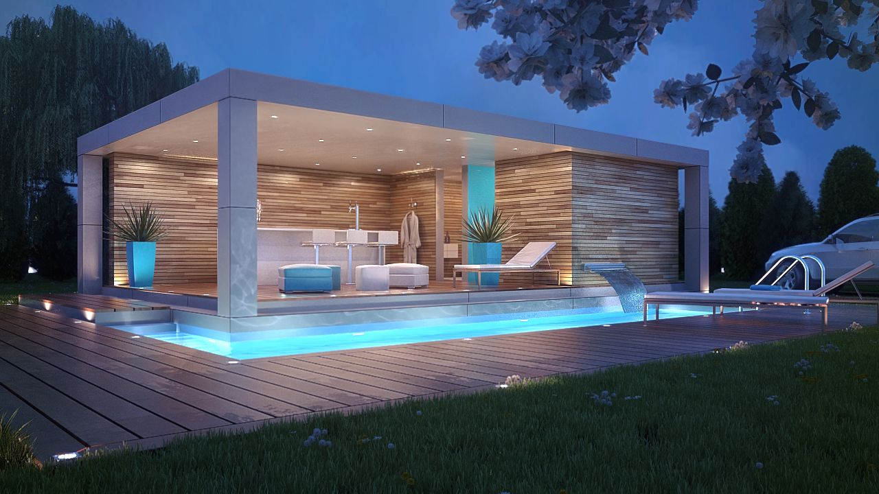 pool house designs from glam cabanas, to elegant gazebos, to open-air pavilions and more, take BCOTMGN