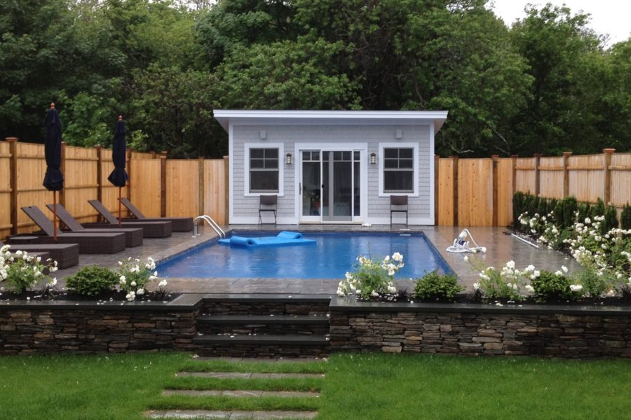 pool house designs view in gallery house with day beds for pool area ZEAZRWA