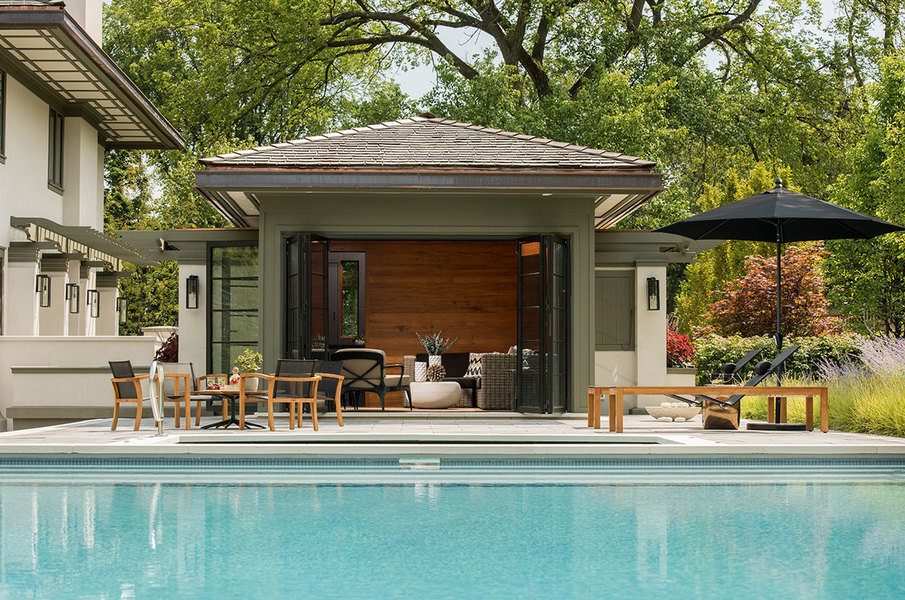Choose Pool House Ideas to set up one by your Poolside