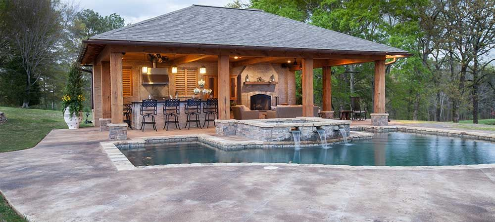 pool house ideas pool house designs - jackson, ms more KCKGVCT