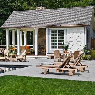 pool house ideas rustic pool house MCWDDVQ