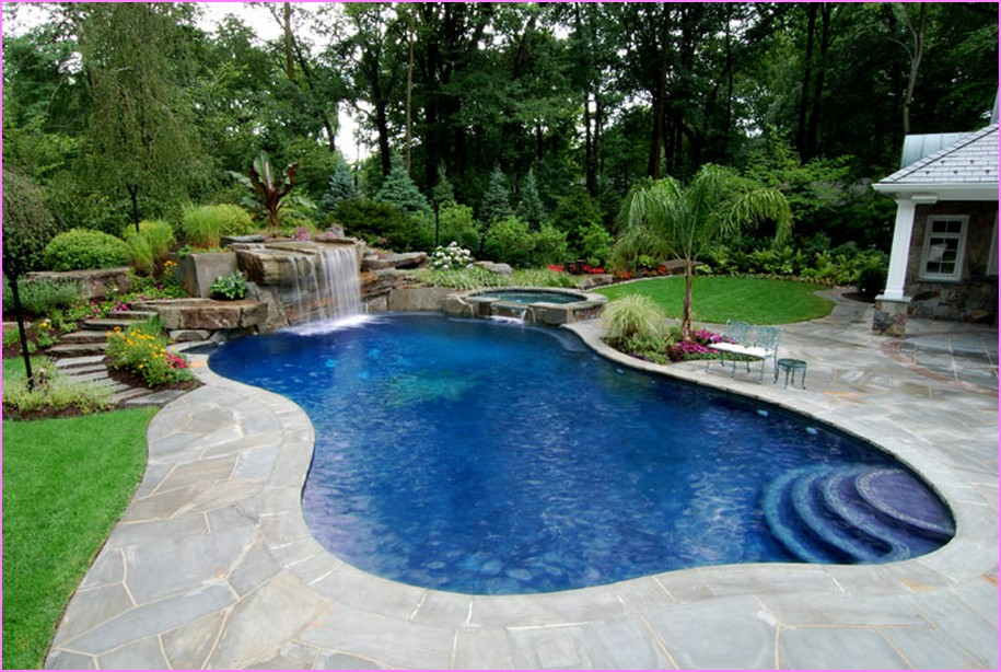 pool landscaping ideas nice backyard pool and landscaping