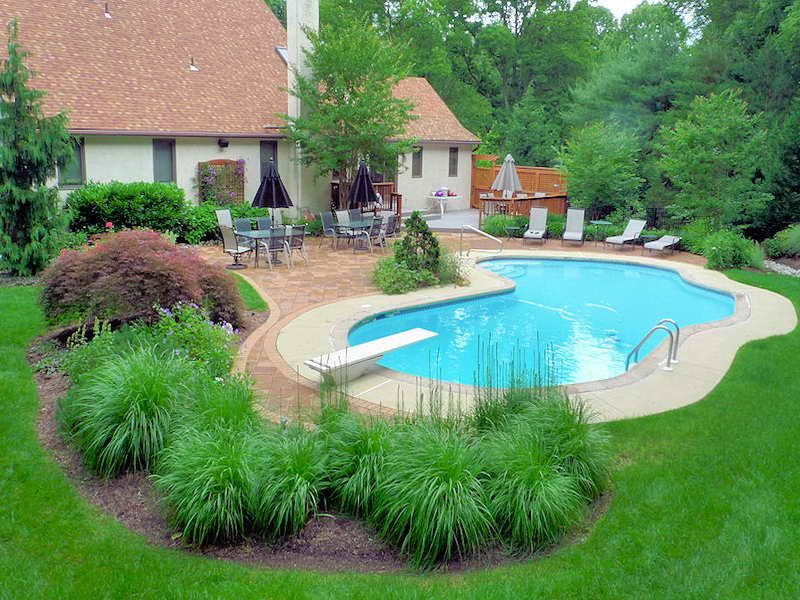 pool landscaping ideas wonderful pool landscape ideas NLXWWXA
