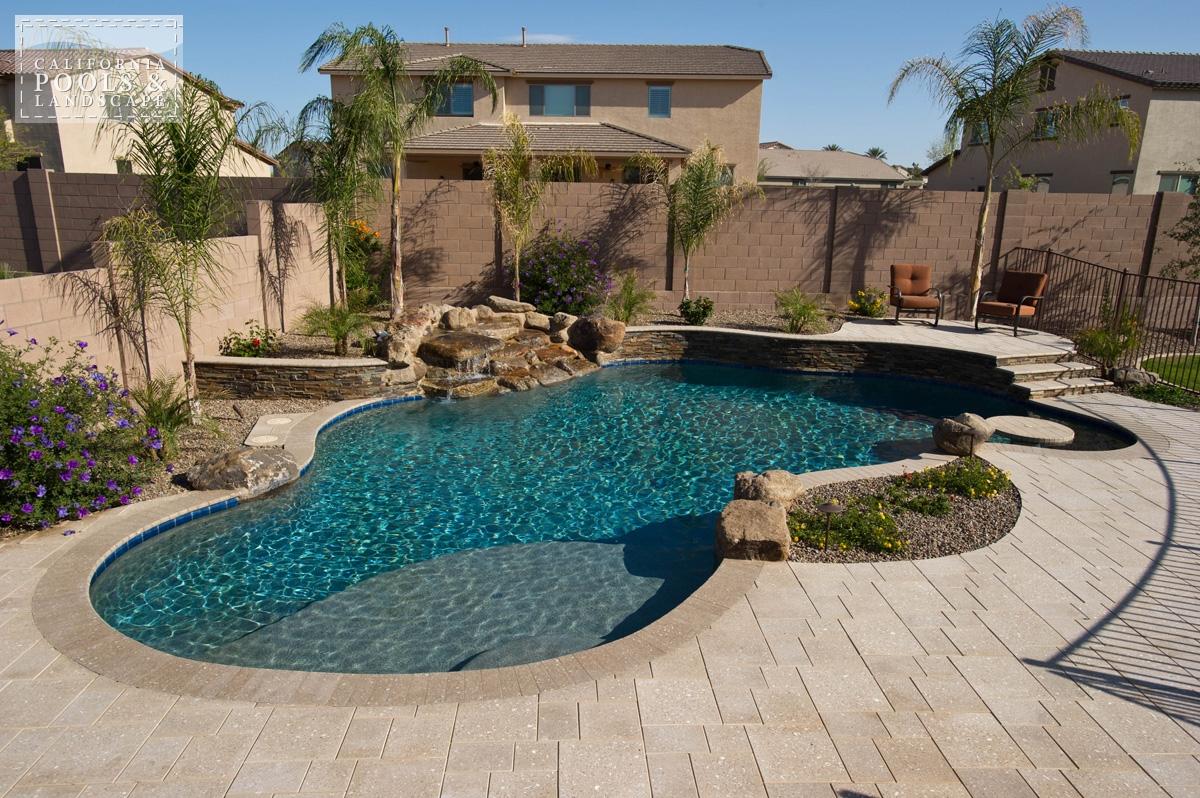 pool landscaping u003ciu003eaz lifestyle, organicu003c/iu003e QYZAFBG