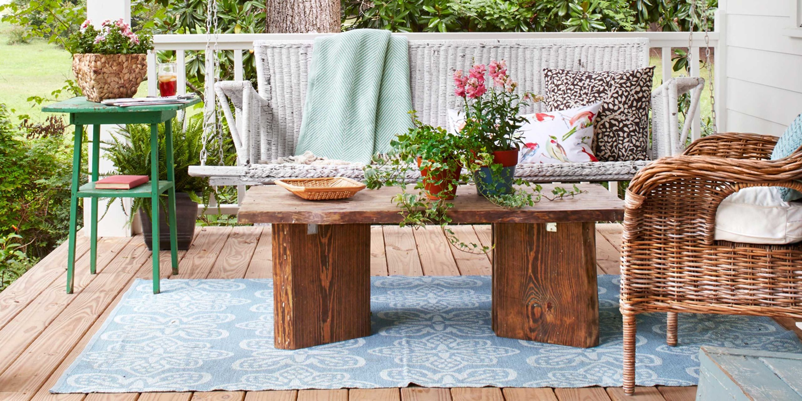 porch and patio decorating ideas NOOZWAX