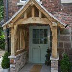 Elegant and Decorative Porch Canopy