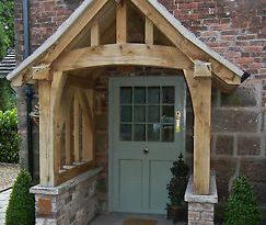 porch canopy image is loading oak-porch-doorway-wooden-porch-canopy-entrance-self- WZNPDIW