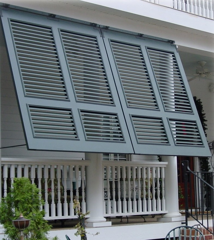 porch mounted bahama shutters BQTWAVK