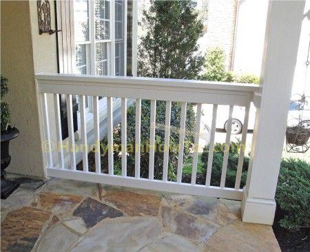 porch railing 2x6 porch rail construction: diy XMCVYXG