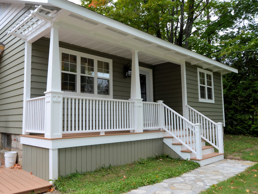 Porch railings for your home decor
