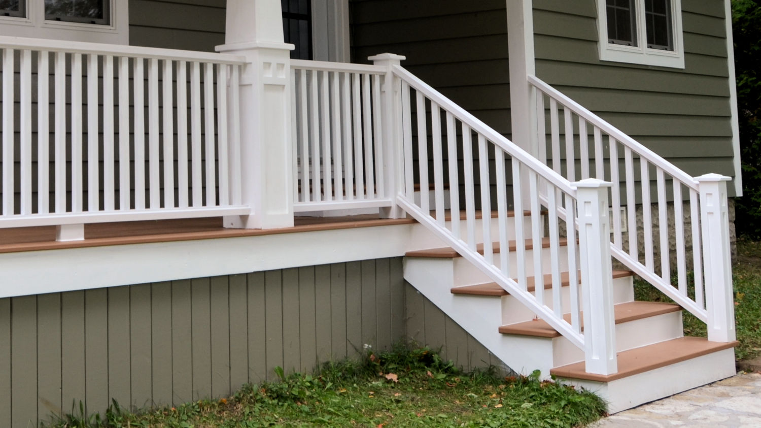 porch railing how to make porch railings - ibuildit.ca ZEFODDC