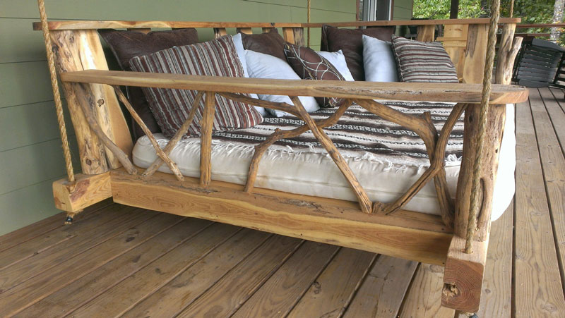 porch swings rustic porch swing bed · rustic porch swing bed GVAKYOU