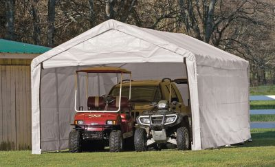 portable carport shelterlogic® canopy enclosure kit YAOAGFG