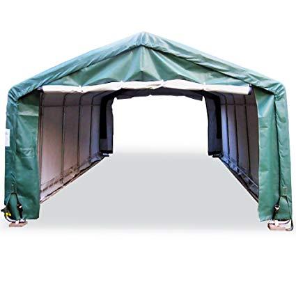 portable carports |instant garages | vehicle shelters (green, house  12wx20lx8h) SRRLRSK