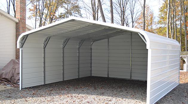 portable carports partial enclosed metal carports, carports for sale ADDRCLA