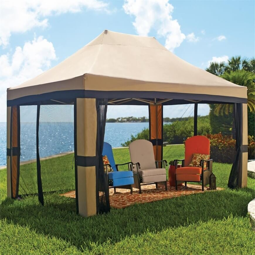 portable gazebo this is a great example of a pop-up gazebo. the vaulted canvas UKQAICH
