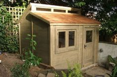 posh sheds our bespoke contemporary shed GSZKROY