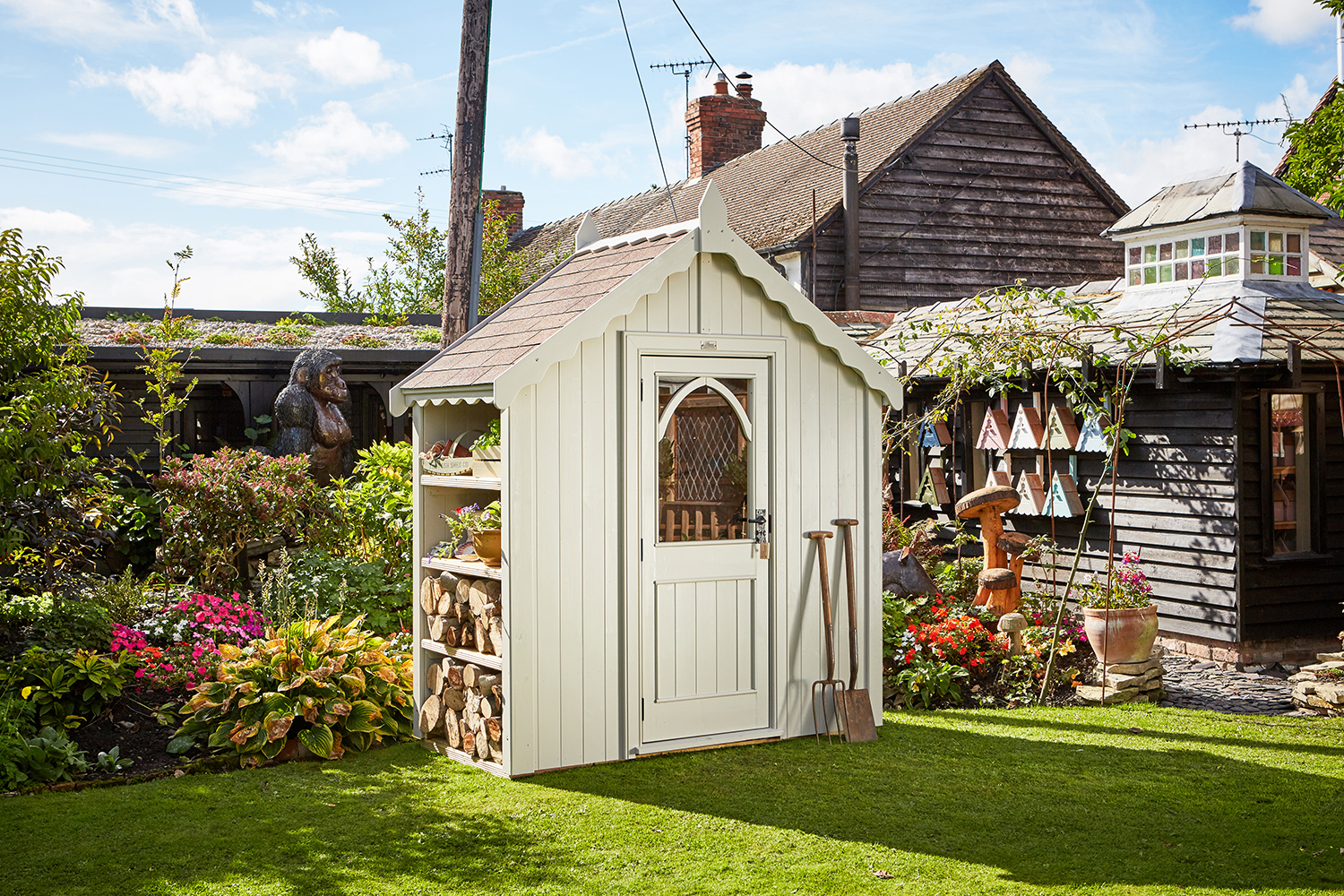 posh sheds the chelsea posh shed finished in posh elephant QRUWCVQ