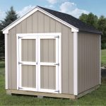Care and maintenance of the prebuilt sheds