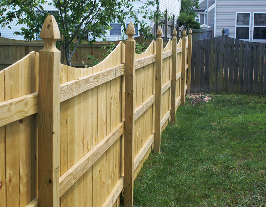 privacy fencing 100 post privacy fence - big