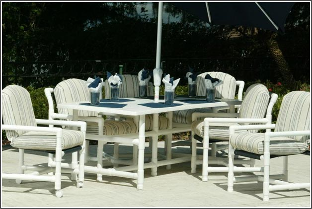 pvc patio furniture pipe outdoor furniture elegant pvc charleston sc myrtle beach bluffton  throughout KMJAZSW