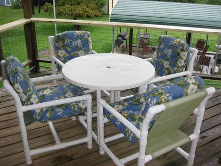 pvc patio furniture pvc patio chair plans free pdf IZXXVYF