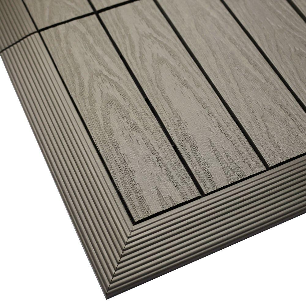 quick deck composite deck tile outside AETYEWQ