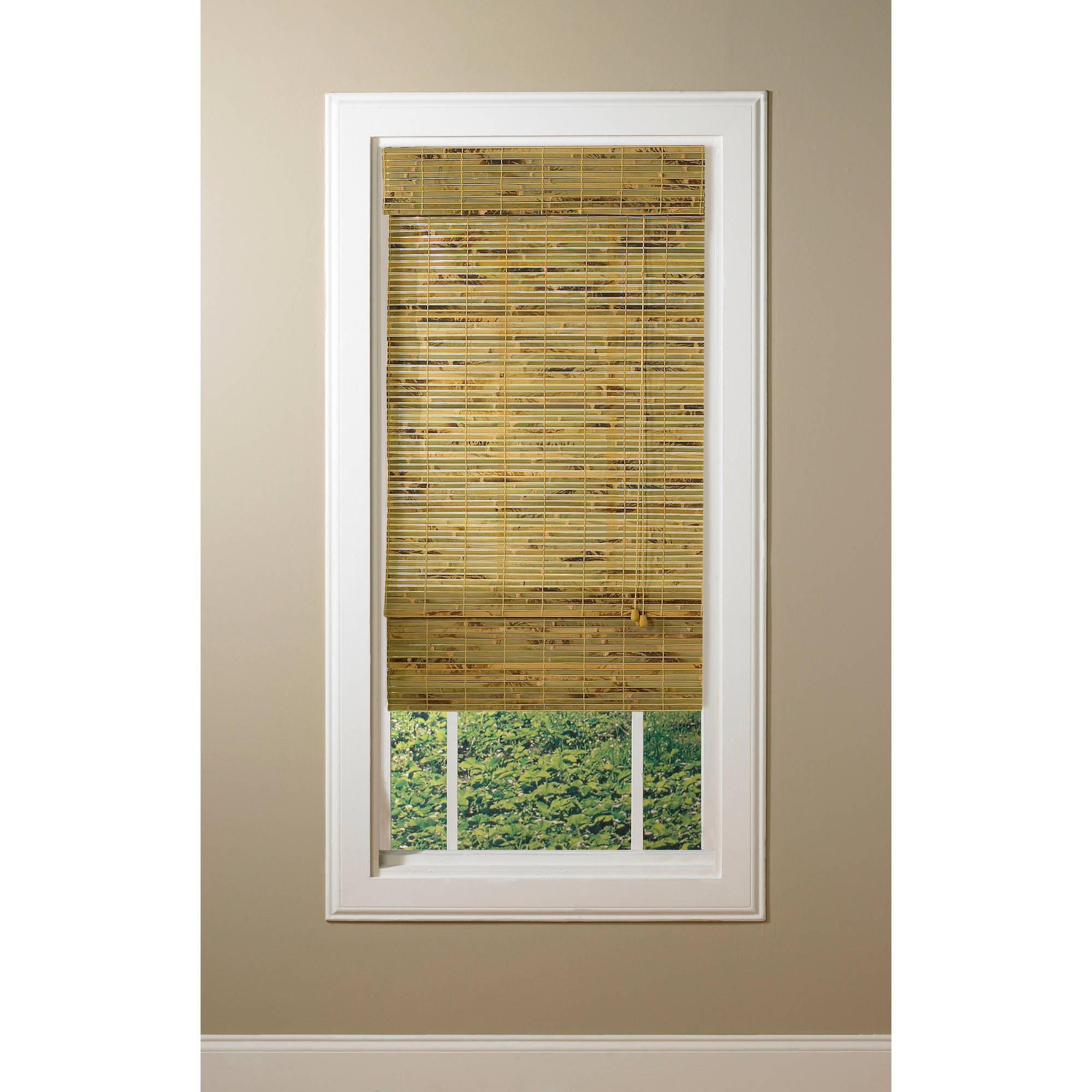 radiance kona natural woven bamboo roman shades QIKIEEP
