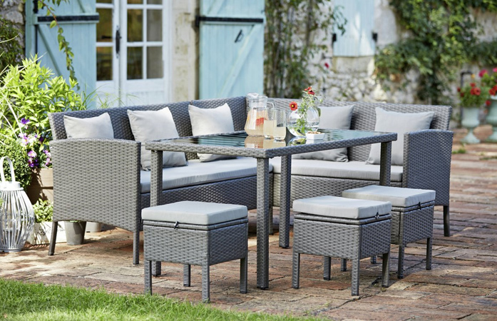 rattan patio furniture image ORHCBKF