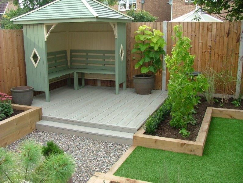 read on to discover some great, modern garden decking ideas that will CPGCIXQ