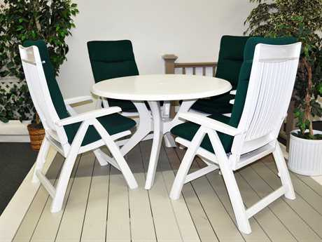 resin patio furniture resin dining sets QOATMNI