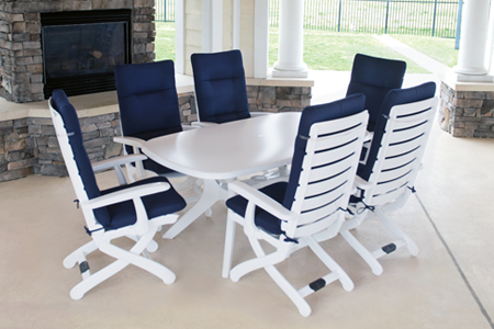 resin patio furniture resin is a strong, high-quality plastic material used mainly for seat, back OIEROAY